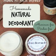 Homemade Deodorant– Natural, Aluminum-Free– Primal Pit Paste Inspired