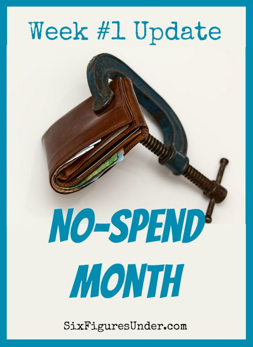 It's time for our first check-in of the no-spend month challenge. How did you do? Did you follow your rules? What were your biggest temptations? Let's recommit to another great week!