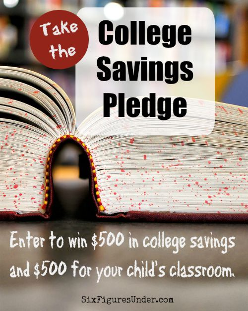 Celebrate National College Savings Month by taking the College Savings Pledge to win a $500 ScholarShare 529 and $500 for your child's classroom.
