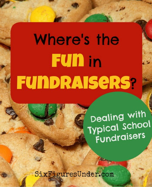 I want my first-grader to learn lots of things at school. Marketing overpriced cookie dough isn't one of them. Dealing with typical school fundraisers is anything but fun.
