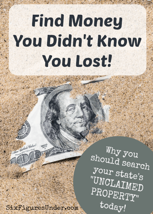 I just found over $2,400 that isowed to my father-in-law that he didn't know about! States hold onto billions of dollars of unclaimed property until they find the rightful owners. Here's a link to every state's unclaimed property database so you can see if you are owed any money!