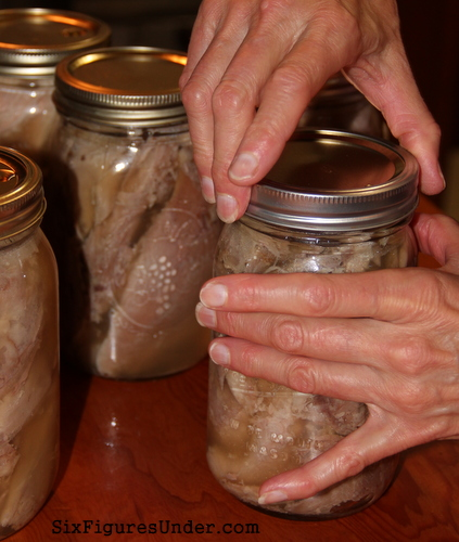 How to Can Poultry-- A step-by-step tutorial for canning turkey and chicken