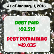 December 2015 Debt Repayment Progress Report