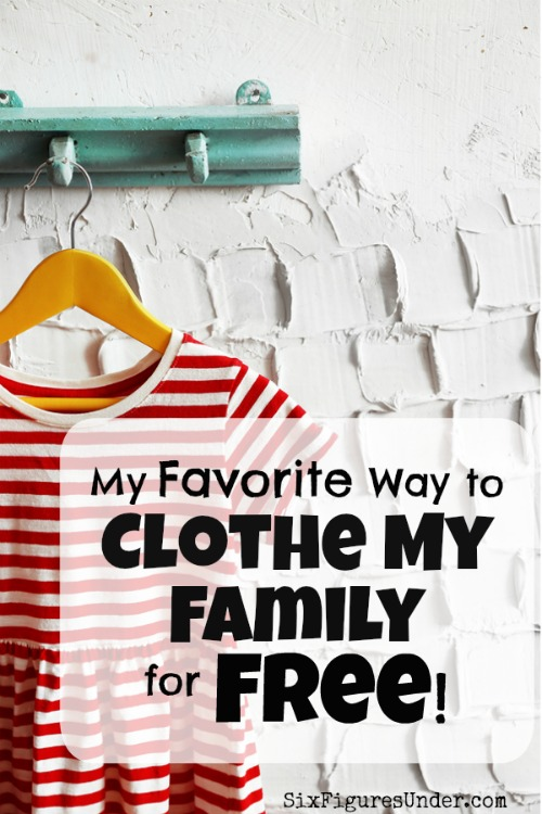 For people who can't handle regular prices on clothes, here are some great ways you can get clothes for free! Her favorite is mine too!