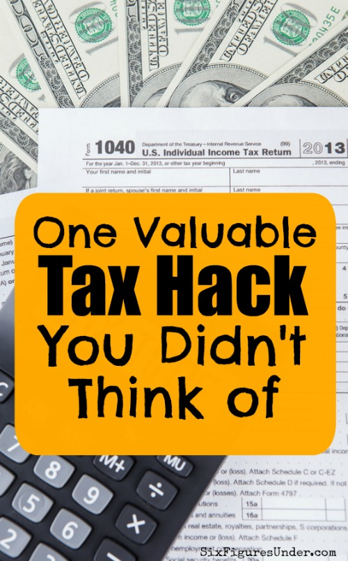If you are itemizing deductions on your tax return, then you'll definitely want to check out this tax hack. This is something I never would have thought of on my own but has the potential to save me thousands!