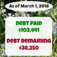 February 2016 Debt Repayment Progress Report