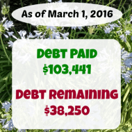 February 2016 Debt Repayment Progress Report