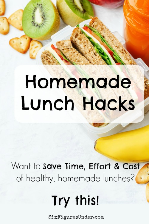 If you love the savings but hate the effort of packing a homemade lunch, then these lunch hacks are for you. With these hacks, I've minimized the time, effort, and cost required to make healthy homemade lunches for my family. These homemade lunch hacks are sanity-savers for sure!