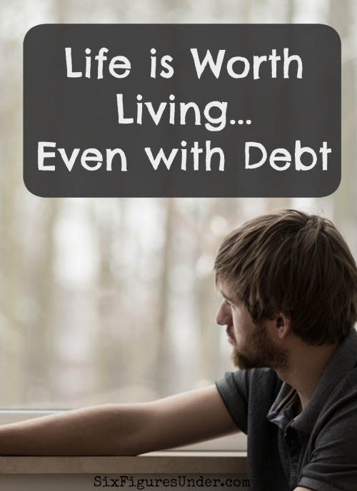 Debt is not a reason to end your life. There is so much more to life than money.  If you are having suicidal thoughts, please get help.  You are not alone.  Your life matters!