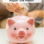 August 2016 Budget Report