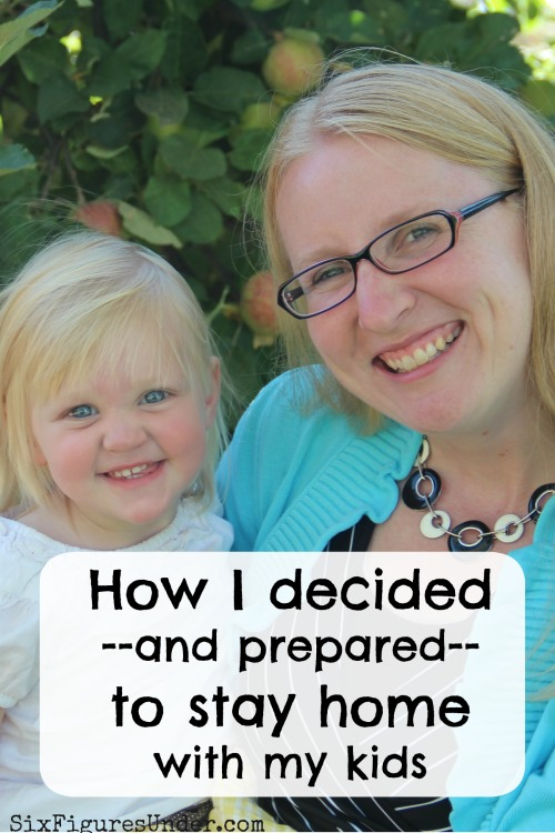 Deciding to be a stay-at-home parent is a big deal. When you're deciding to stay home with you kids, be sure to factor in and prepare for these things!