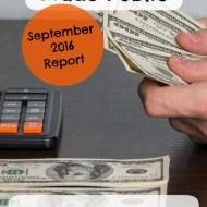 September 2016 Budget Report