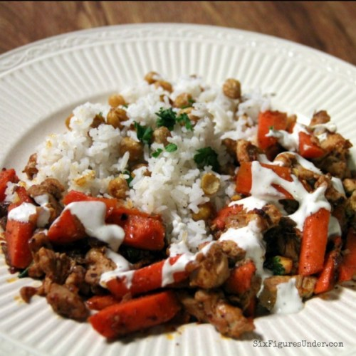 Spicy Chicken & Carrots with Harissa, Dates & Chickpeas