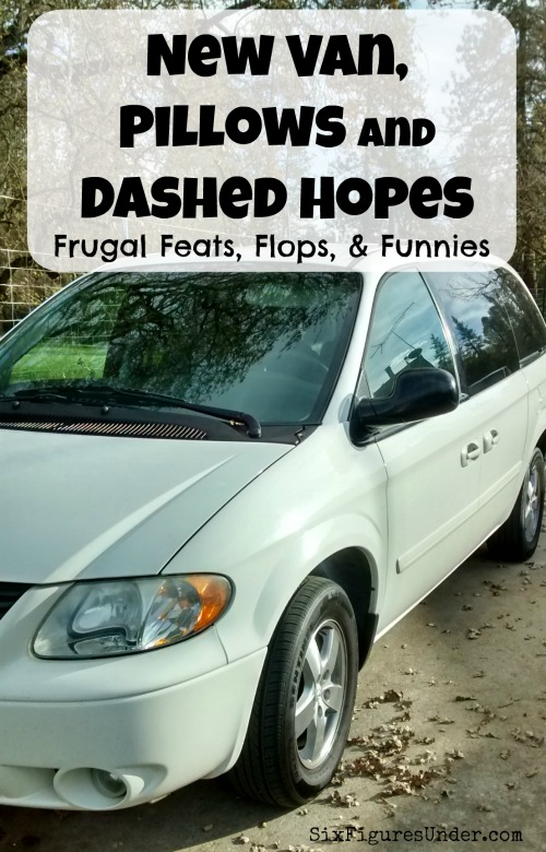 It's time to take a look at the week to see what frugal plans worked and which ones failed.  Ever since I started to share my frugal feats, flops, and funnies each week, it has made me even more aware of my attempts to be frugal.