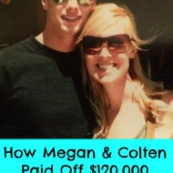 What would you give up?  Megan's Debt Payoff Success Story