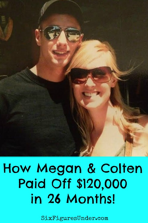 Megan and Colten paid off $120,000 in two years by making some real sacrifices and sticking to their debt payoff plan. Here's how they did it!