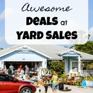 How to Find Awesome Deals at Yard Sales