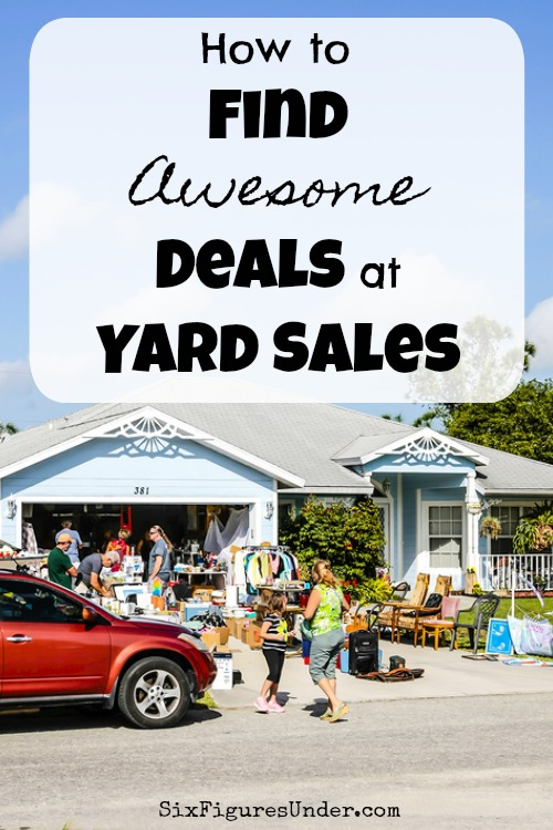 Finding deals at yard sales is not just luck. There is real strategy behind finding deals at garage sales. Here are a some tips to help you score big too!