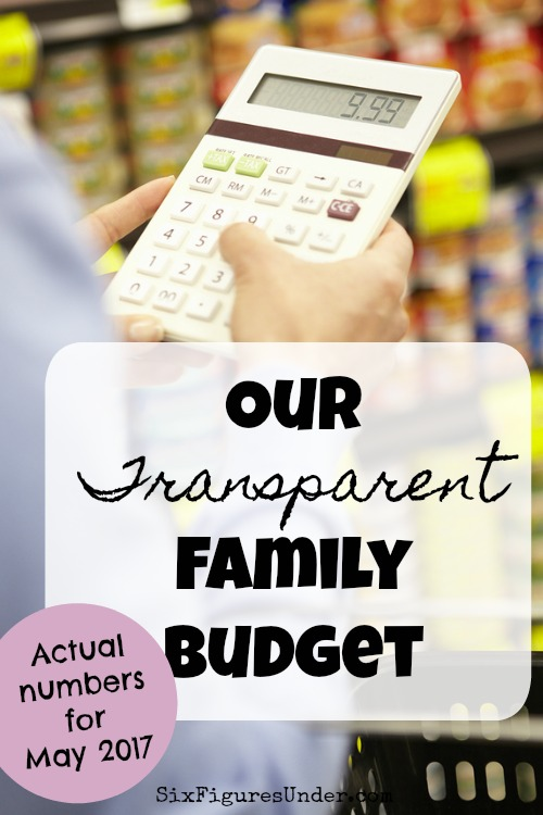 Want to see our budget and spending for our family of six? We share all the details each month. Here's May's report!