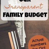 Family Budget Update– October 2017