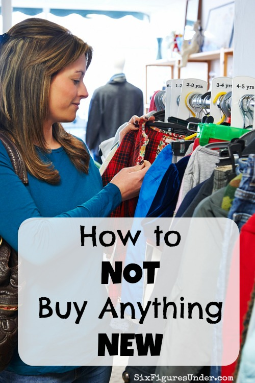 How to NOT Buy Anything NEW-- My Secret to Saving