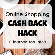 The Cash Back Hack I Learned Too Late