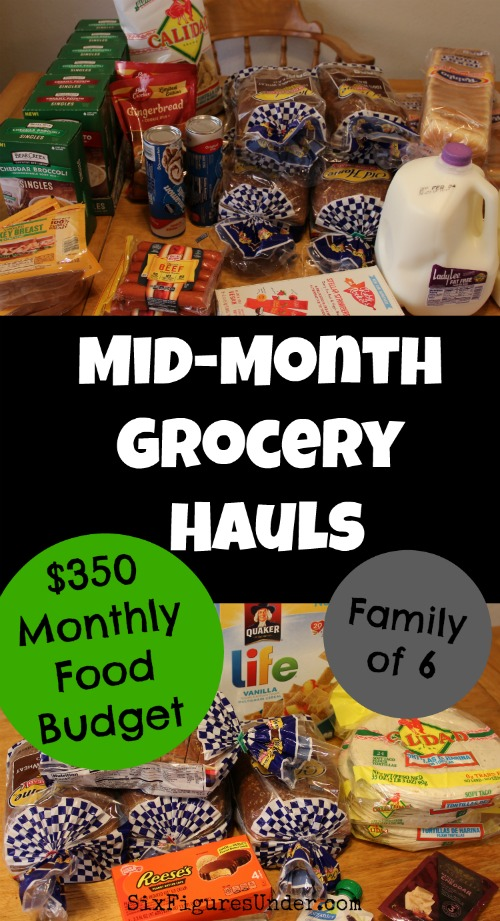 Grocery shopping on a low budget   Grocery haul at Grocery Outlet   Family of 6