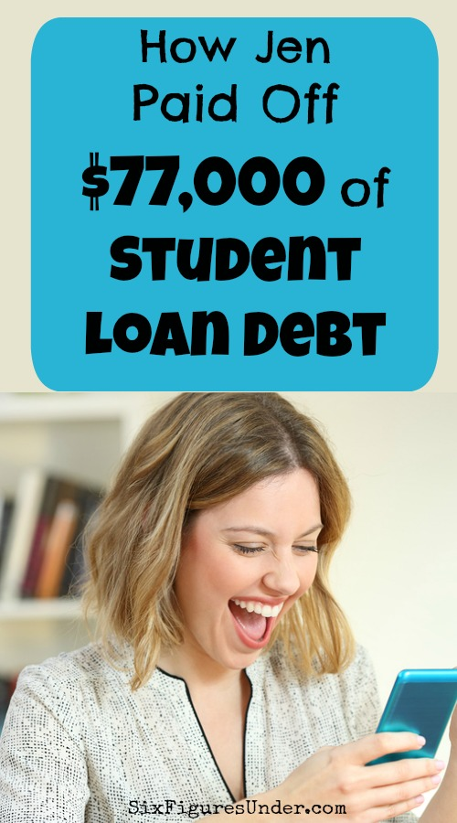 There's nothing quite like hearing someone else's debt-free journey to motivate you to pay off your own debt. Here are the strategies one girl used to pay off $77,000 of student loan debt!