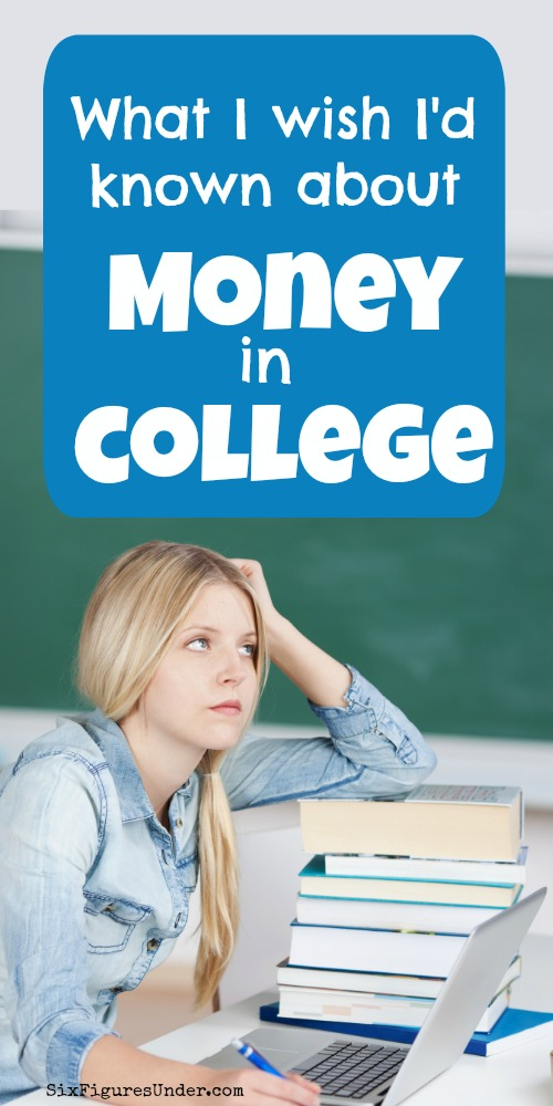 If I could go back and have a chat with my college self I would share some financial wisdom that I've picked up over the past (nearly) two decades. Knowing then what I know now would have saved me so much stress, anxiety, and tears over money.