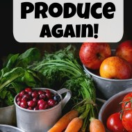 6 Hacks to Never Waste Produce Again!
