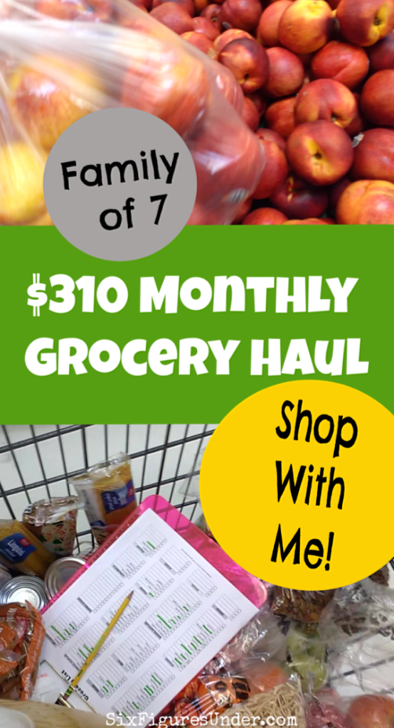 I'm taking you with me to Winco, Sam's Club, Grocery Outlet, and Sprouts to do our monthly grocery shopping! We spent $310 of our $400 monthly grocery budget. Come along and see what we got!