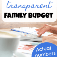 Transparent Family Budget Update– September 2018