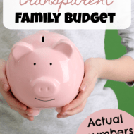 Transparent Family Budget Update– October 2018