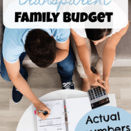 Transparent Family Budget Update– November 2018