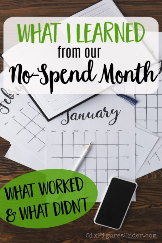 While the experience of a no-spend month is still fresh, we're evaluating what went well, what didn't, and what we learned from the no-spend challenge. Would we do it again?