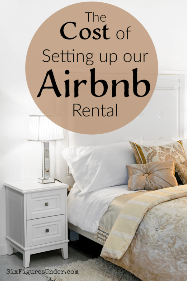 We make our finances public, so of course we're sharing what we spent to set up our Airbnb. If you're wondering the cost of starting a short-term rental, then this will give you an idea.