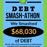 Debt Smash-athon MAY Progress Report