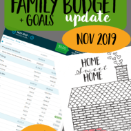 Real Family Budget Update– November 2019