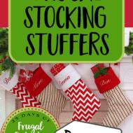 Frugal Stocking Stuffers– Frugal Festivities Day #11