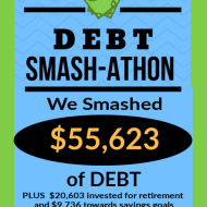 Debt Smash-athon MARCH 2020 Progress Report