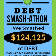 Debt Smash-athon APRIL 2020 Progress Report