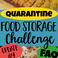 Quarantine Food Storage- FAQ and Update 4