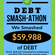 Debt Smash-athon MAY 2020 Progress Report