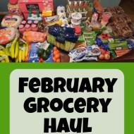 February 2021 Grocery Haul