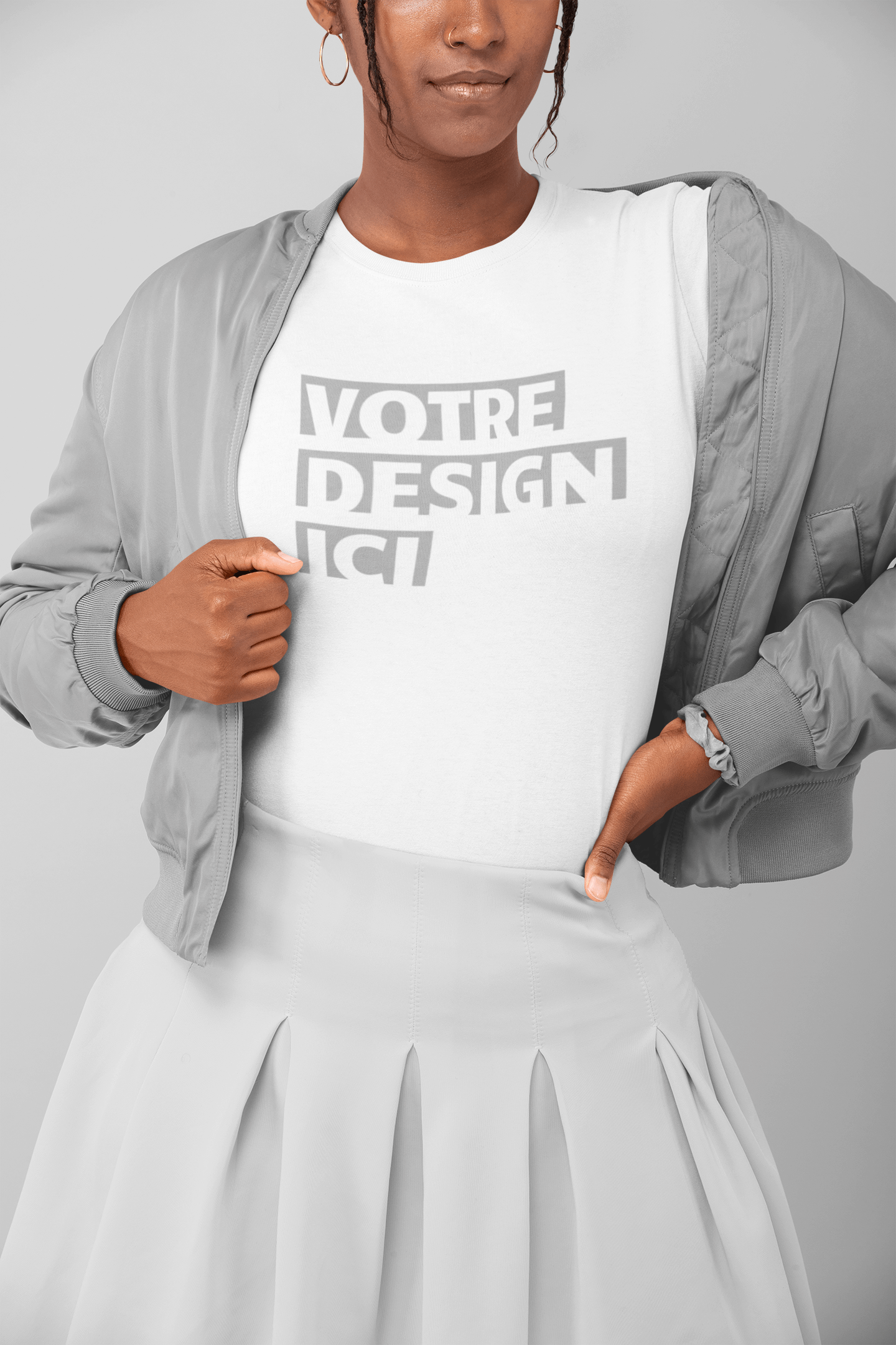 t-shirt-mockup-of-a-woman-in-a-monochromatic-outfit-posing-at-a-studio-32795