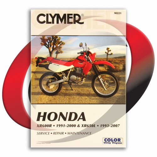 small resolution of details about 1993 2007 honda xr650l repair manual clymer m221 service shop garage