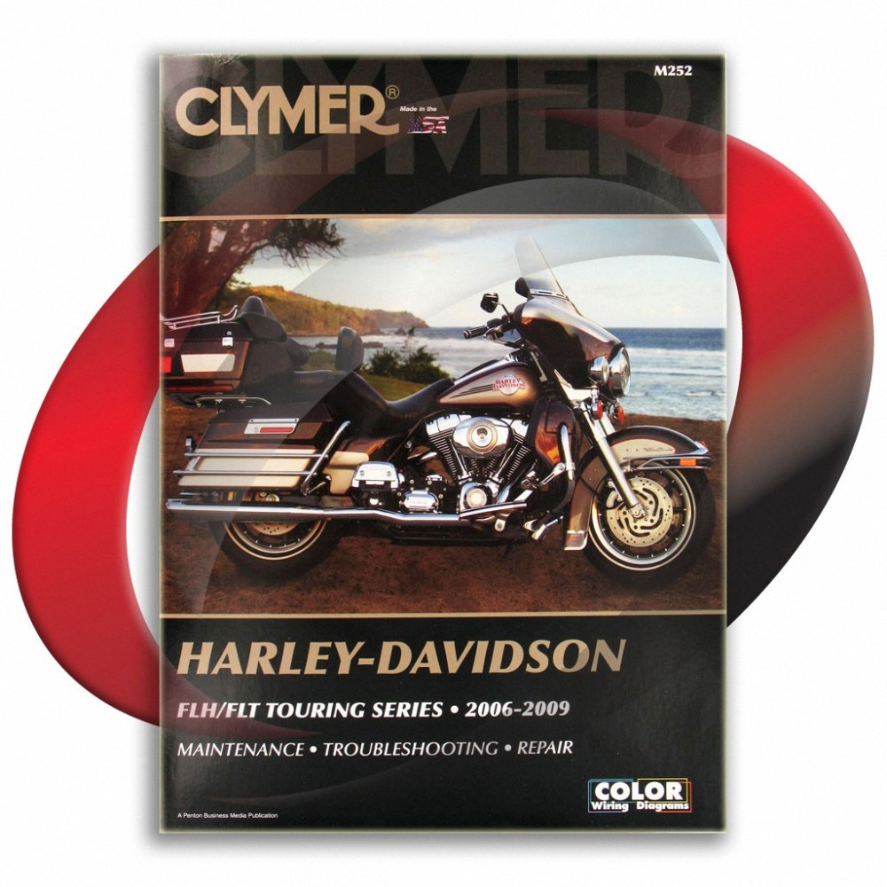 medium resolution of 2006 2009 harley davidson flhx street glide repair manual clymer m252 service
