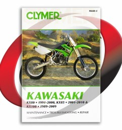 2001 2010 kawasaki kx85 and kx85 ii repair manual clymer m448 2 service shop [ 1024 x 1024 Pixel ]
