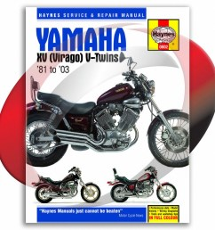 1981 1997 yamaha xv750 haynes repair manual 802 shop service garage maintenance [ 1024 x 1024 Pixel ]