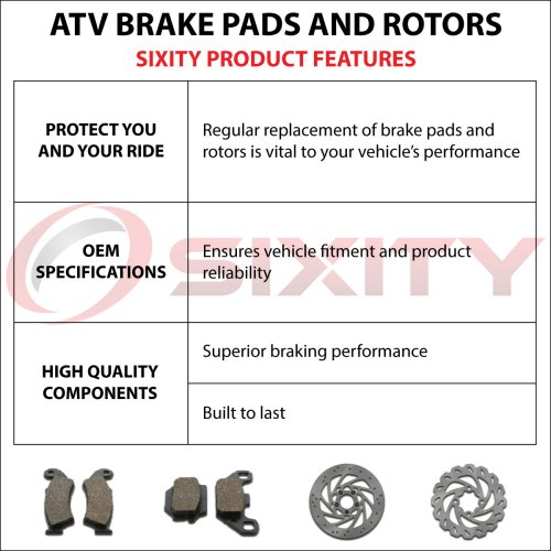small resolution of front rear organic brake pads 2009 2013 polaris ranger rzr 800 s set full xc